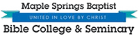 Maple Springs Baptist Bible College and Seminary