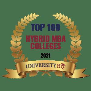 Top 100 Hybrid Online MBA School Programs