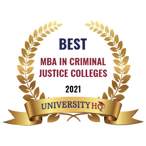 Best MBA in Criminal Justice Colleges
